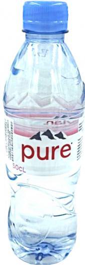 Evian water 50cl