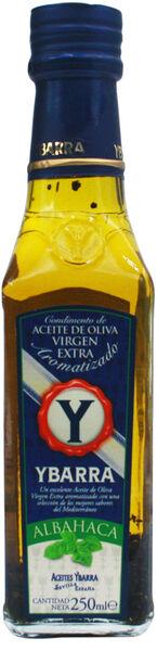 Ybarra Basil Extra Virgin Olive Oil 250ml